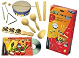 Voggy's Percussion Set Book/CD/Instrument