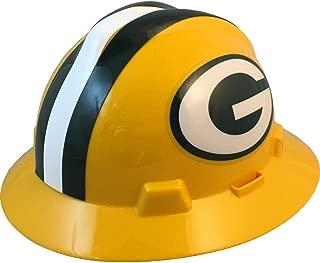 NFL V-Gard Full Brim Hard Hat, Green Bay Packers
