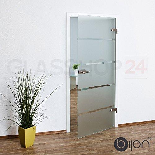 bijon® Glastür T6 | Studio/Studio | 834x1972 mm | DIN Rechts