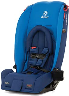 Diono 2020 Radian 3RX, 3-in-1 Convertible, Infant Insert, 10 Years 1 Car Seat, Fits 3 Across, Slim Fit Design, Blue Sky
