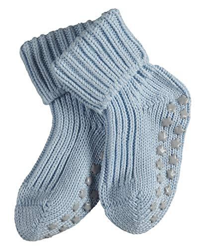 FALKE Baby Socken Catspads Cotton - 96% Baumwolle, 1 Paar, Blau (Powder Blue 6250), Größe: 80-92