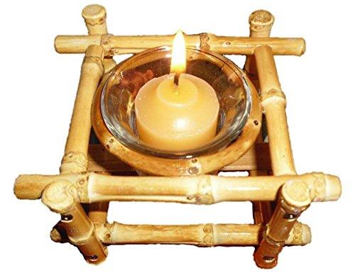 Bamboo Candle Holder Votive