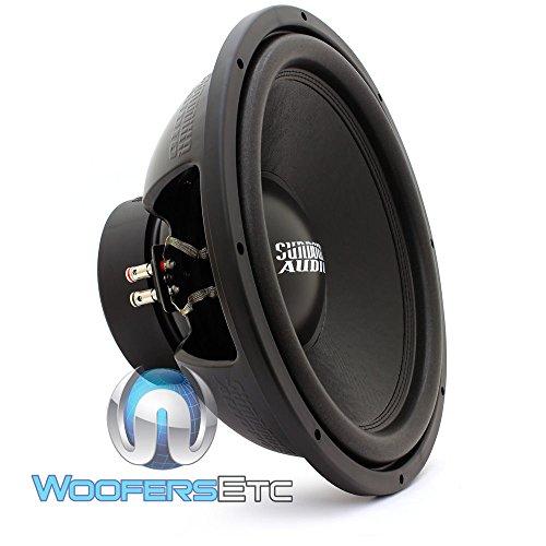 E-15 V.3 D4 - Sundown Audio 15  500W RMS Dual 4-Ohm EV.3 Series Subwoofer