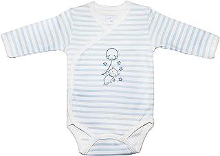 LADI Newborn Baby Bodysuit jumpsuit Romper Long sleeve Wrap-Style clothes Boy Girl Unisex Kid Infant 1 PCS (NB-3M) Months ...