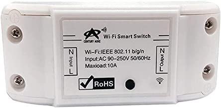Perfk Basic Smart Remote Control Wifi Switch Compatible With DIY Your Home Various Electrical Equipment Transmission Mode
