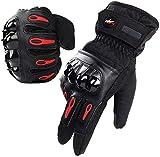 Karvipark Taktische Handschuhe, Motorradhandschuhe Fahrrad handschuh Herren Vollfinger Handschuhe...