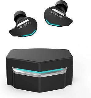 Langsdom Audífonos Gamer Inalámbricos G30 Auriculares Bluetooth Gaming con Micrófono Manos Libres, Sonido 3D, 20 Horas de Batería para Celulares Apple, Samsung, Huawei, Xiaomi, Motorola