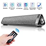 Sound Bar,Dabachxin Soundbar Bluetooth 5.0 Sound Bars for TV,Wired and Wireless Home Theater