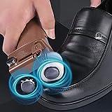 Scrubber elettrico Spazzola,Spazzole per pulire Lucidatrice automatica per scarpe lucidatrice elettrica per scarpe lucidatrice manuale per scarpe per uso domestico leggera e portatile doppia testina