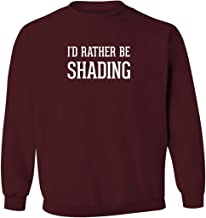 I'd Rather Be SHADING - Men's Pullover Crewneck Sweatshirt