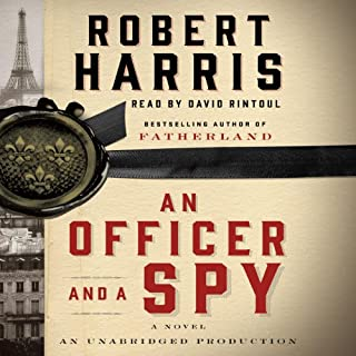 An Officer and a Spy audiobook cover art
