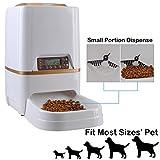 Homedecoam Programmierbarer Automatischer Futterautomat Futterspender für Hund und Katze Portion Control & Voice Recording - 5