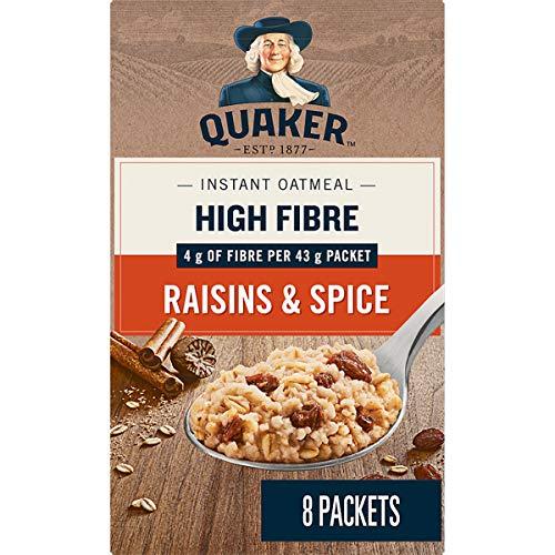 Quaker Instant Oats High Fibre Raisins & Spice