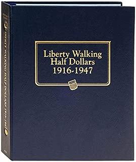 Whitman US Walking Liberty Half Dollar Coin Album 1916 - 1947 #9125