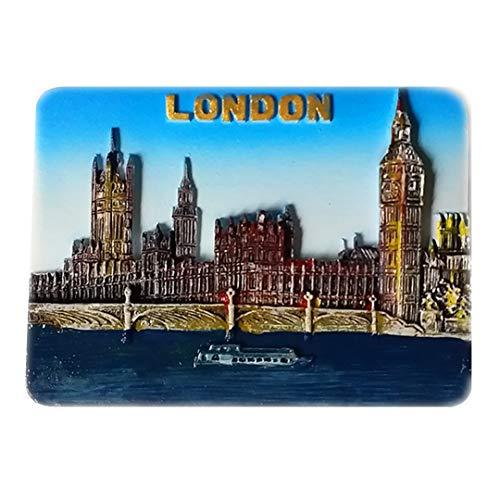 Big Ben London Großbritannien 3D Kühlschrank Kühlschrankmagnet Reisestadt Souvenir Collection Dekoration Whiteboard Aufkleber Harz