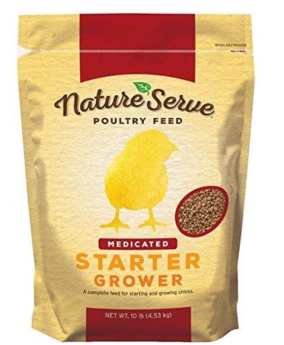 Nutriquest 101110 Medicated Chicken Starter Feed, 10lb