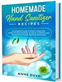 Homemade Hand Sanitizer Recipes: A Complete Guide to Make in Easy Way a Natural Hand Sanitizer at Home