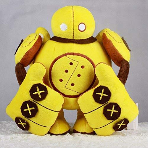 wqmdeshop Plüschtiere 35Cm Roboter Blitzcrank Plüschtiere Und Puppen