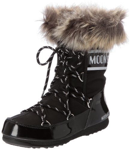 Moon Boot W.E. Monaco Low, Boots femme - Noir (Nero), 39 EU