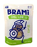 BRAMI Gluten Free, High Protein Vegan Lupini Beans Snack, Chili Lime, 50 Pouches
