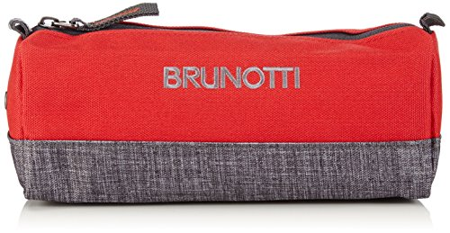 Brunotti BB Pencil Case BB4507-206 Damen Taschenorganizer 22x8x8 cm (B x H x T), Rot (Red 206)
