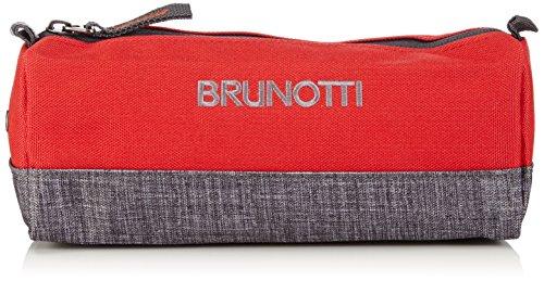 Brunotti Damen BB Pencil Case Taschenorganizer, Rot (Red 206), 22x8x8 cm