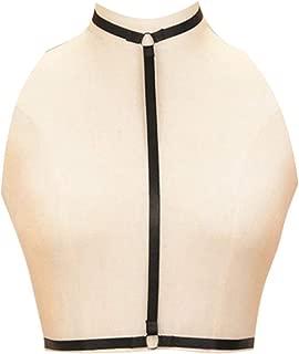 Sexy Women Harness Halter Pentagram Body Harness Bra Caged Bra Cupless Bra Crop Top Strappy Bralette …