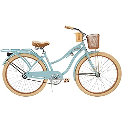 "Huffy 26"" Nel Lusso Women's Cruiser Bike with Freebie (Blue)"