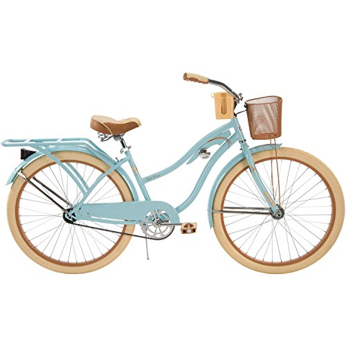 "Huffy 26"" Nel Lusso Women's Cruiser Bike with Freebie (Blue)"