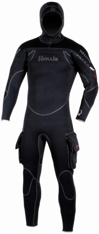 High quality Hollis Scuba Diving Neotek Mens Lanyard Semi-Drysuit Coil Sales for sale w