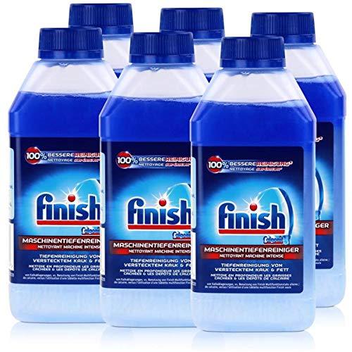 Finish Maschinenpfleger Regular Spülmaschinenreiniger Anti Kalk und Fett 6er Sparpack (6 x 250ml)