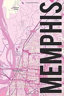 Memphis: 6x9 blank lined journal