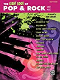The Giant Book of Pop & Rock Sheet Music: Easy Piano (The Giant Book of Sheet Music)