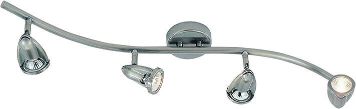 Freedy Lighting 1491 Track Light Kit, Brushed Nickel