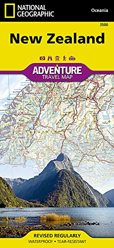 Compare Textbook Prices for New Zealand National Geographic Adventure Map 2016 Edition ISBN 0749717001701 by National Geographic Maps - Adventure