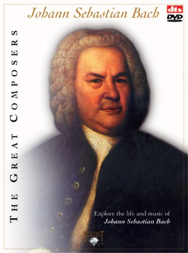 Max 77% OFF The Great Composers: Johann Sebastian Selling and selling CDs 2 DVD Bach +