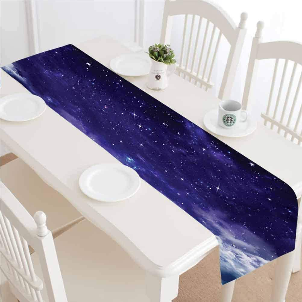 Space Table Runner Super special price Dresser Scarves Dreamy Night Cloud Stars 25% OFF with