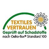 Tischpolster Weiss Eckig 90x160 cm · Länge & Breite wählbar - Molton Schutz wasserdicht Tischdecke - 5