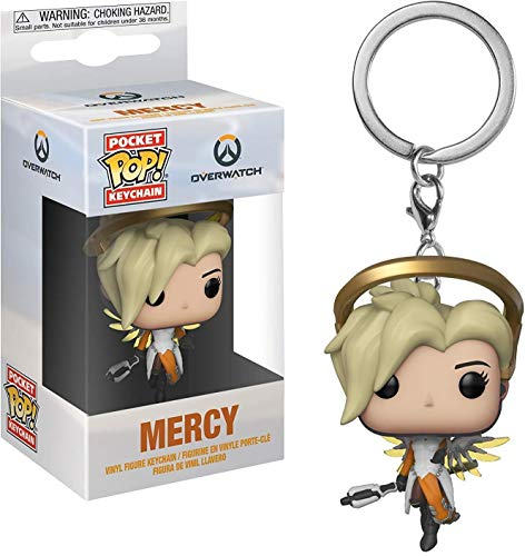 Keychain Pop Overwatch - Llavero Mercy