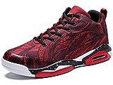 GJRRX Zapatillas de Deporte Baloncesto Unisex Adulto Zapatillas Running para Transpirable Lace Up Zapatos