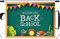 HD Back to School Backdrop Preschool 10x7ft Kids Back to School Party Decoration Photography Background Customized Vinyl Photo Shoot Studio Props MG790