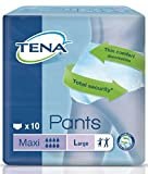 TENA Pants Maxi Large - 8 Packs of 10 by Tena