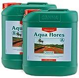 Engrais pour Culture de Canna Aqua Flores A+B (2x5L)