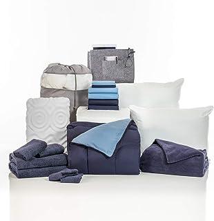 Sponsored Ad - OCM College Dorm Room Essentials 20-Piece Comfort Pak   Twin XL   with Topper, Comforter, Sheets, Towels, S...
