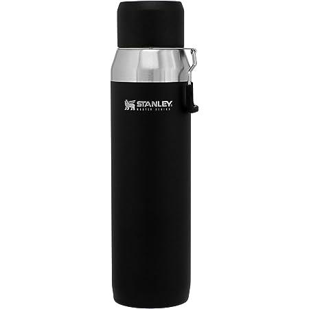 STANLEY(スタンレー) 新ロゴ マスター真空ウォーターボトル 各サイズ マットブラック 直飲み 水筒 保冷 アウトドア 保証 (日本正規品)