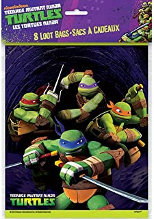 Teenage Mutant Ninja Turtles Goodie Bags, 8ct