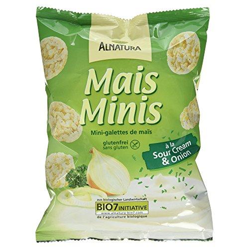Alnatura Bio Mais Minis á la Sour Cream und Onion, 50g
