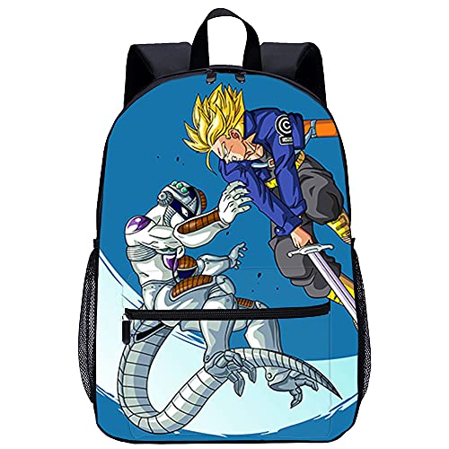Dragon Ball College Rucksack Anime characters Casual Outdoor Backpack School Canvas Bookbags Vintage Backpack Lightweight Backpacks Unisex Rucksack