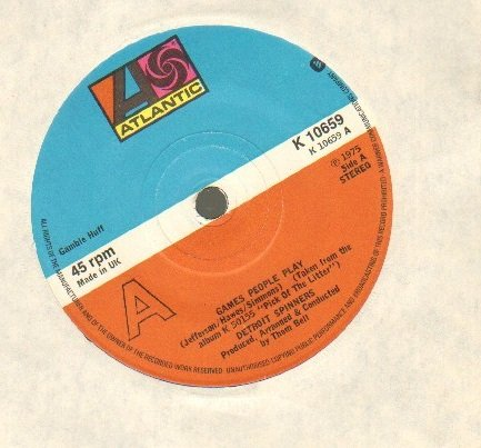 DETROIT SPINNERS - GAMES PEOPLE PLAY - 7 inch vinyl / 45 record