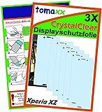3x Sony Xperia XZ / Sony Xperia XZs Bildschirmschutzfolie - Folie brillante Qualität Klare